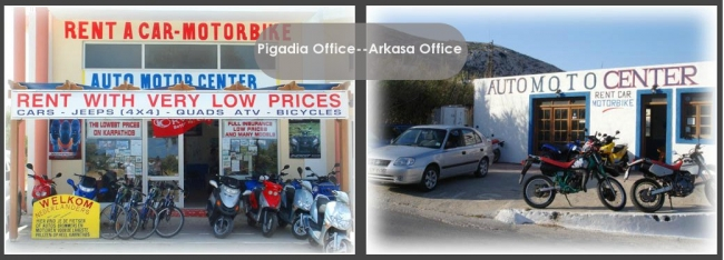Welcome to AutoMoto Center in Karpathos Island